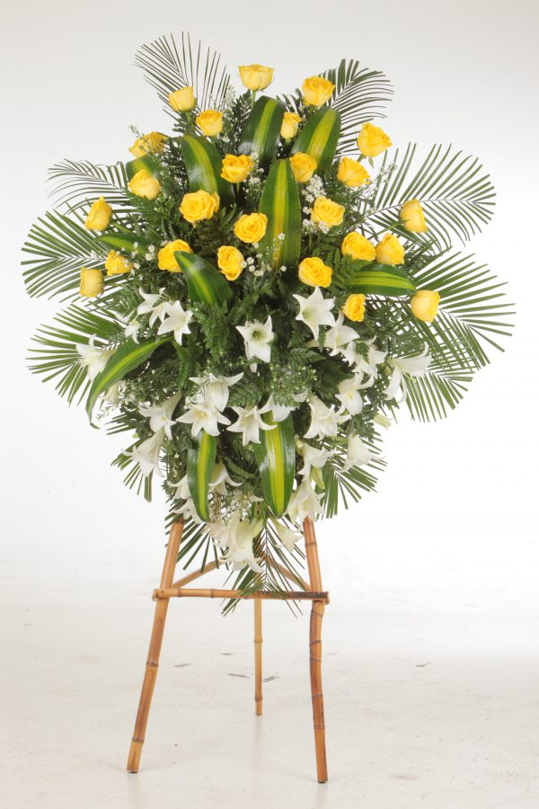 diseños florales fúnebres